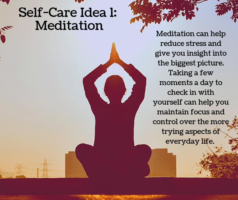 Covid-19 Lockdown: Self-Care Ideas
